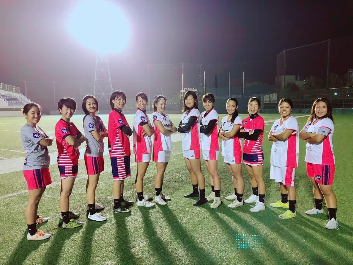 日本 ラクロス 代表 女子